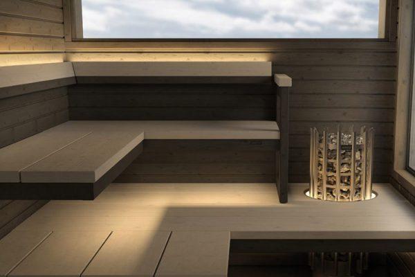 Bienfaits sauna intérieur maison particulier