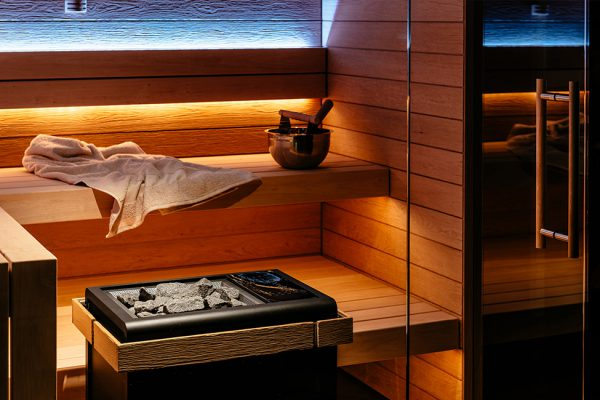 Sauna PMR espace bien-être thalasso esthéticienne