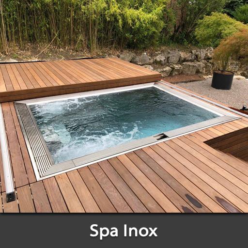 Spa jacuzzi Inox Hauts de France
