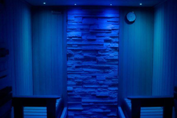 Spot ambiance chromathérapie Sauna Arras Lille Le Touquet