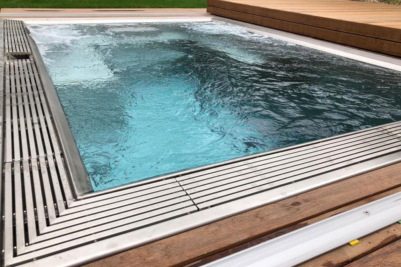 Magasin spa inox Lille Nord Pas de Calais Vente installation jacuzzi design