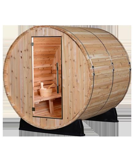 Sauna de jardin Palmata Finatech Baril 59 62
