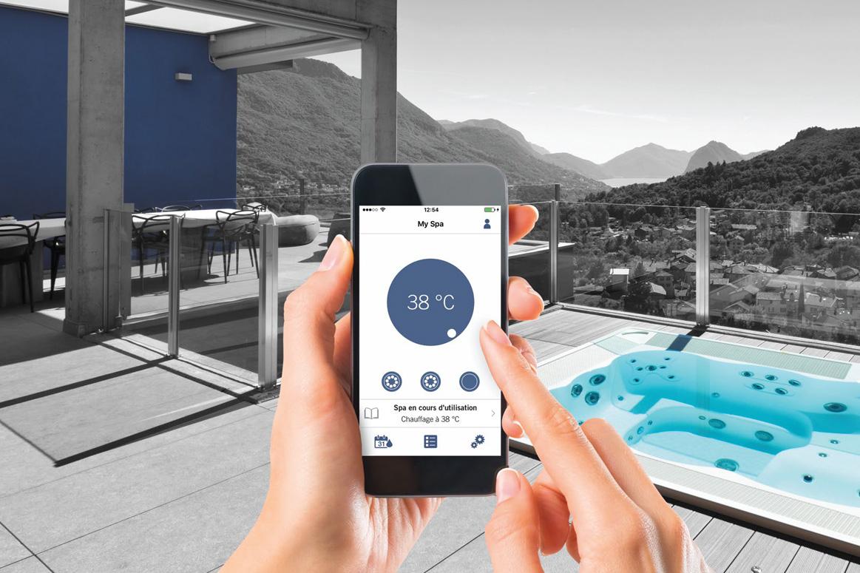 Piloter votre spa du bout des doigts grâce à votre smartphone