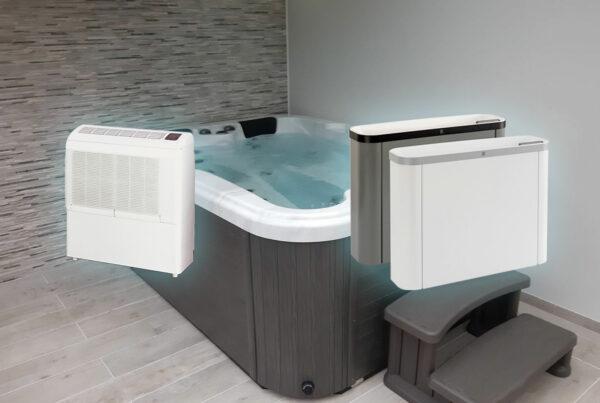 Deshumidificateur pour spa et jauzzi intérieur Nord Pas-de-Calais