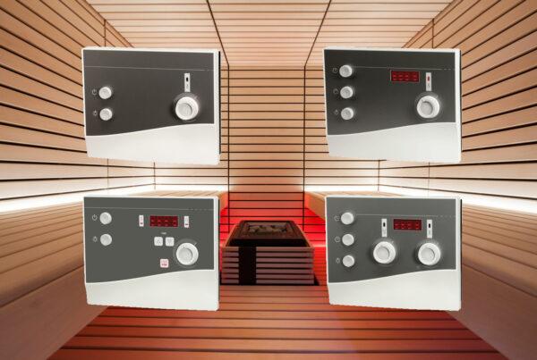 Nouvelles unités de commande de poêle pour sauna Série K-Next