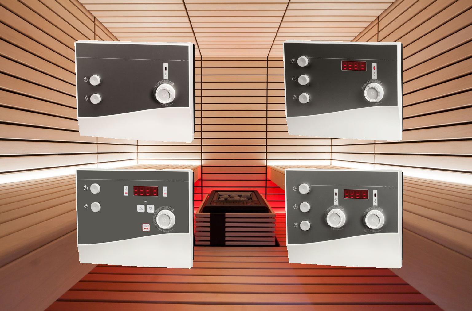 Nouvelles unités de commande pour poêle sauna série K-Next