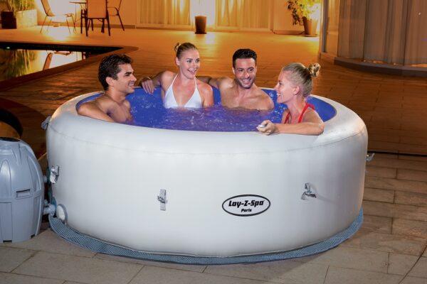 Vente de bain à bulles Laz-y spa Paris